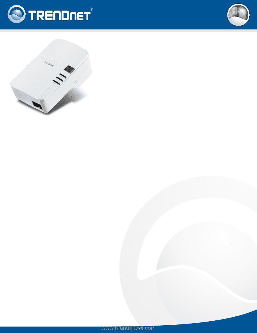 TRENDnet TPL-303E | Datasheet