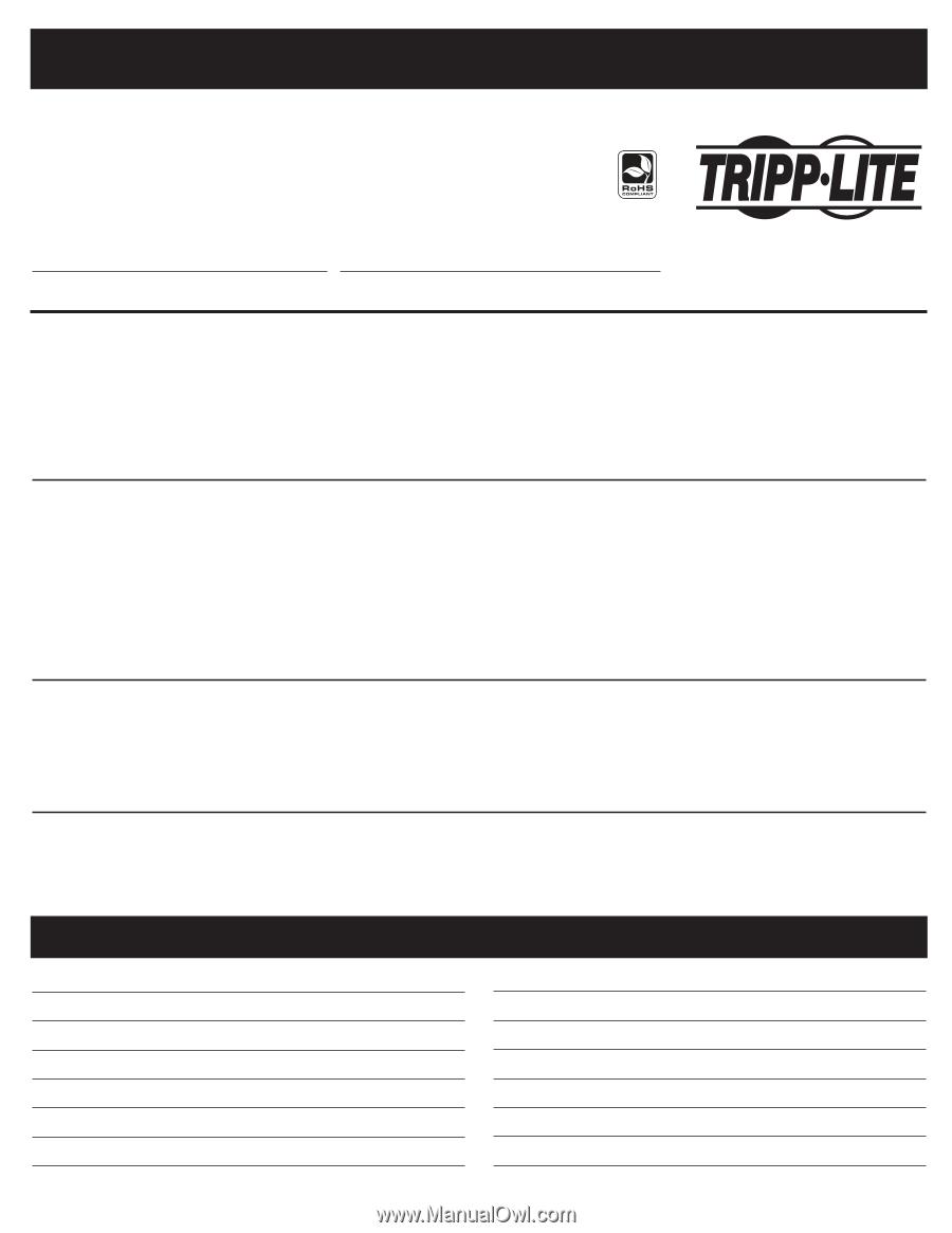 tripp lite rv inverter charger manual pdf
