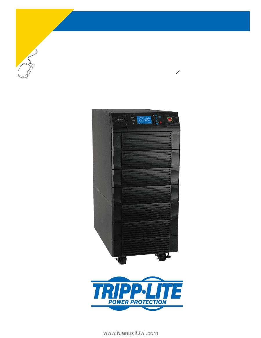 Tripp lite su60kx owner 39 s manual for 3 phase ups 932688 for Table fifty two 52 w elm st chicago il 60610