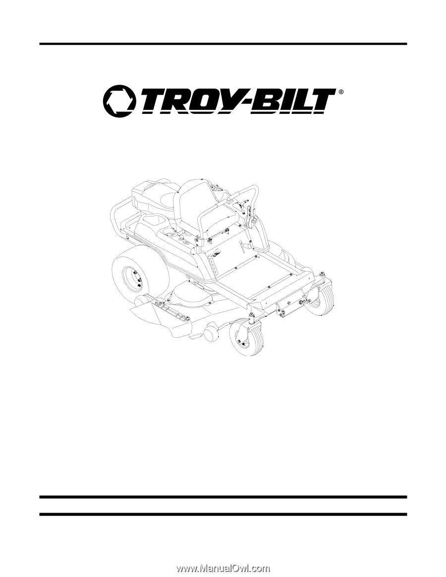 Troy-Bilt Mustang 50 | Parts Manual - Page 5