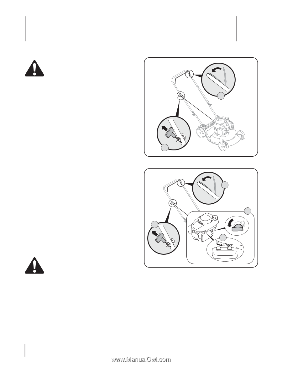 Troy-Bilt TB110 | Operation Manual - Page 14