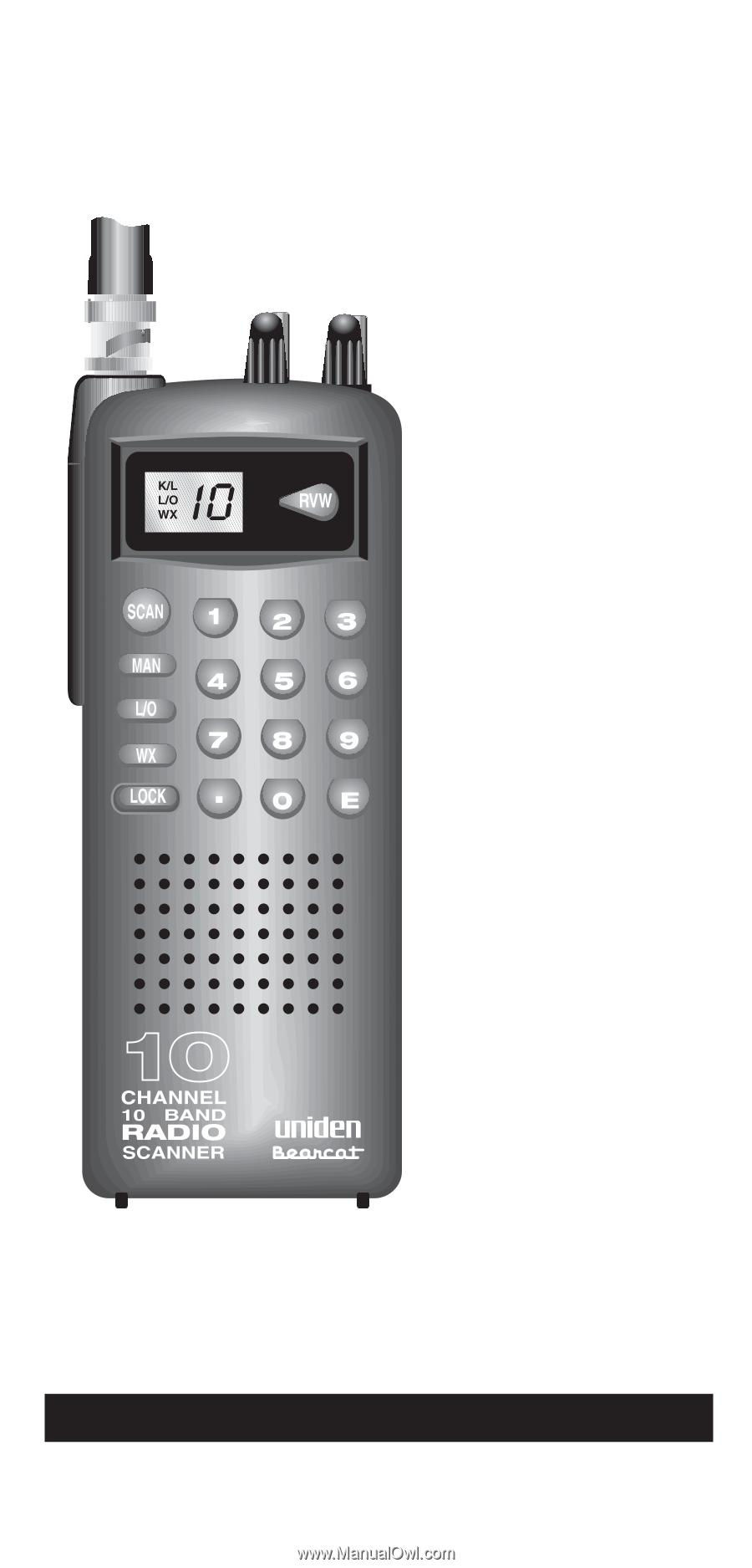 uniden bc60xlt english owners manual rh manualowl com BC60XLT Uniden Handheld Scanner Uniden Bearcat BC60XLT Instruction Manual