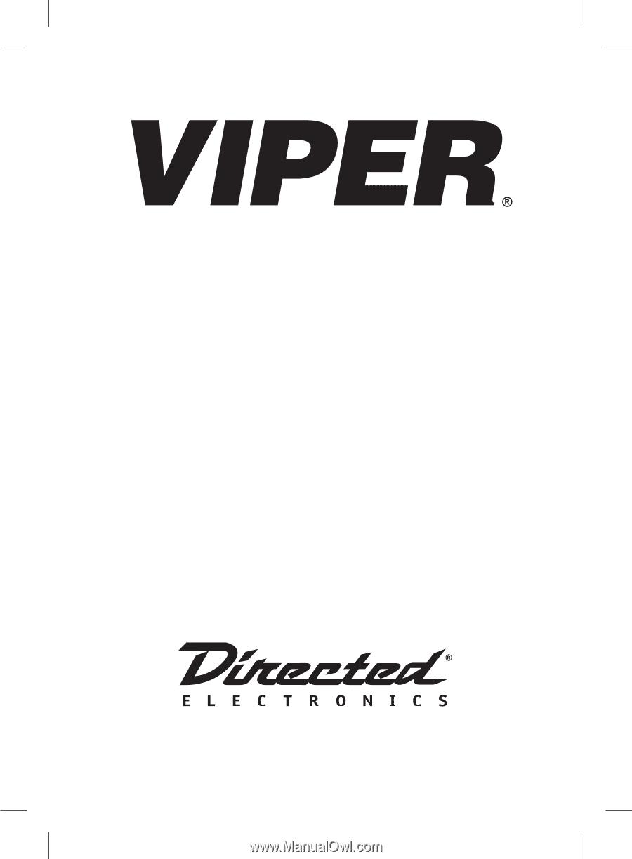 [SODI_2457]   Viper 5601 | Owner Manual | Viper 5601 Wiring Diagram |  | Manual Owl