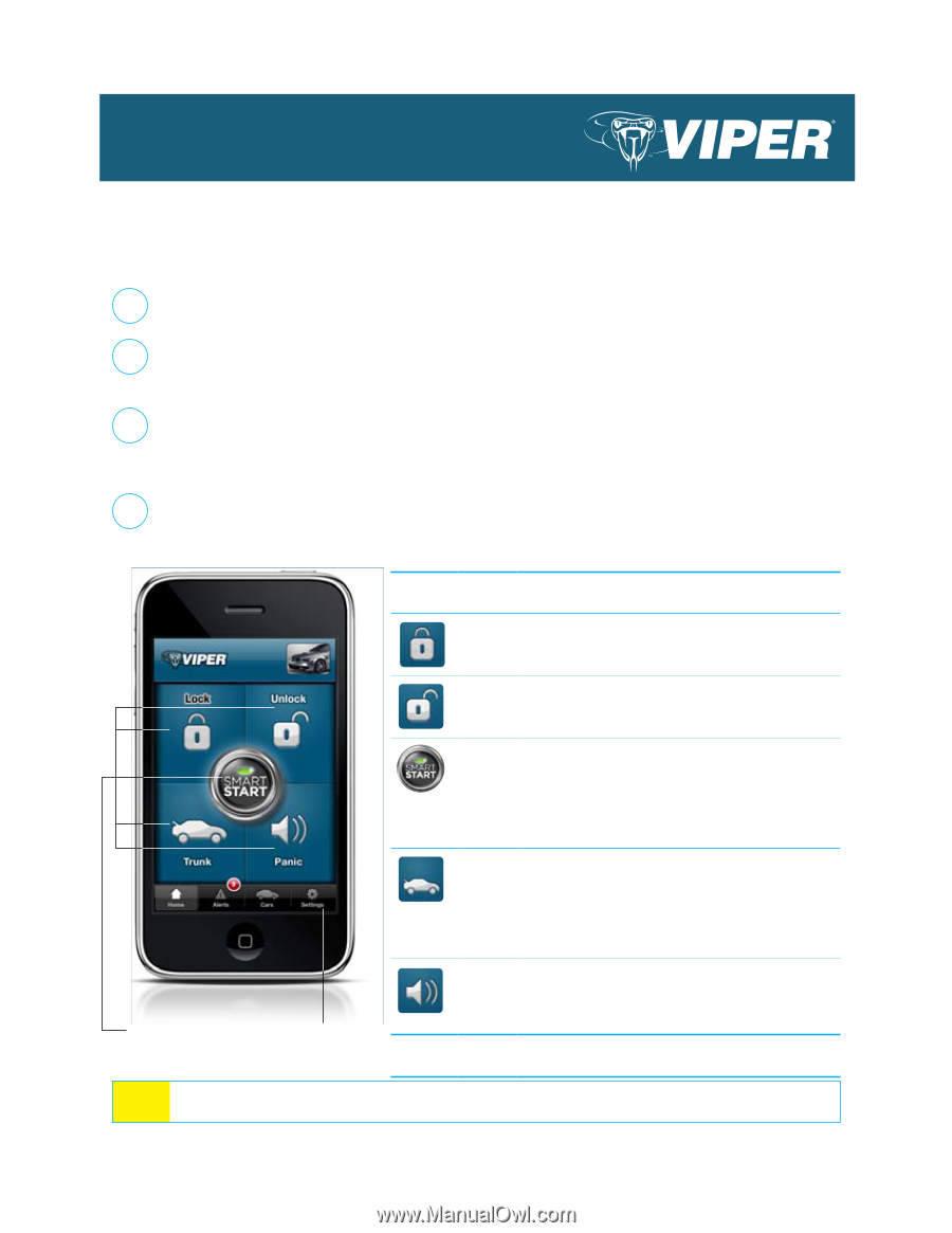 viper remote start user manual