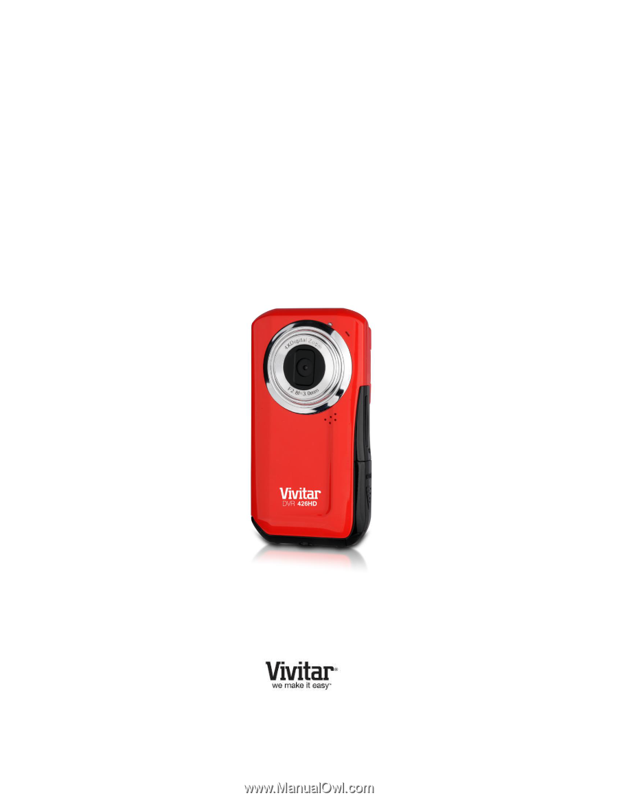 vivitar dvr 426hd v2 camera manual rh manualowl com Vivitar DVR 426HD LIC Digital Camcorder