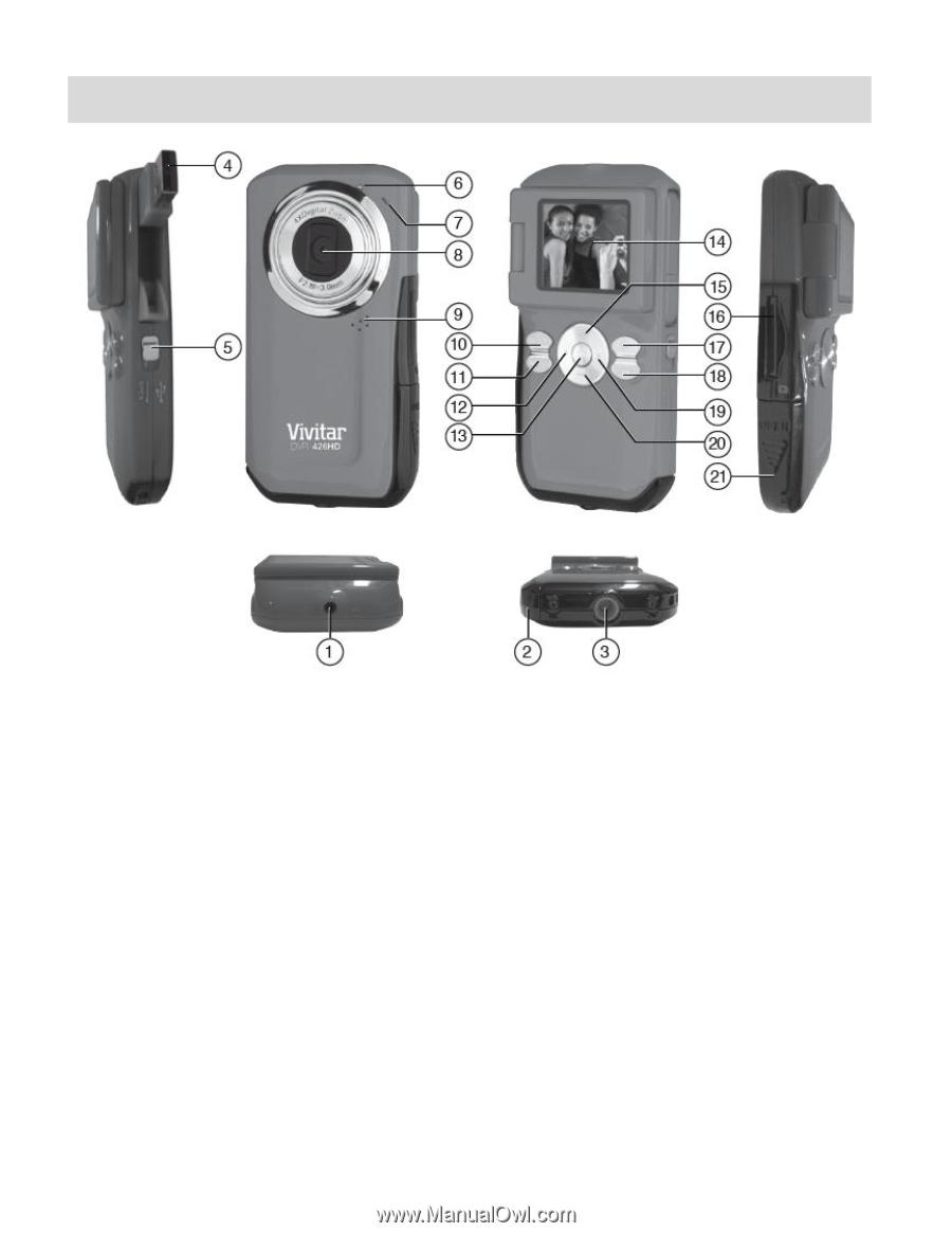 vivitar dvr 426hd v2 camera manual rh manualowl com Vivitar 5.1Mp Digital Camcorder Vivitar DVR 426HD Manual