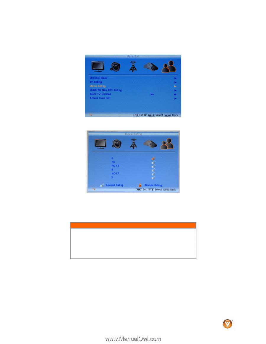 Vizio VA26LHDTV10T | VA26LHDTV10T User Manual - Page 61