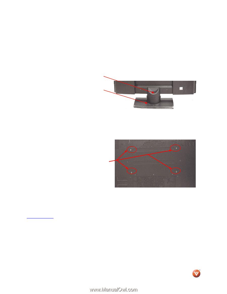 Vizio VP505XVT | User Manual