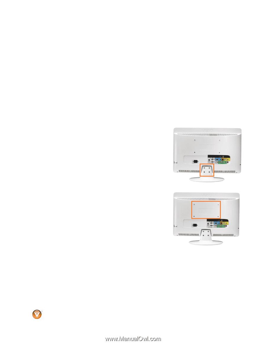 vizio vx240m vx240m hdtv user manual rh manualowl com 24 Inch HDMI Cable 24 Inch Vizio 1080P TV