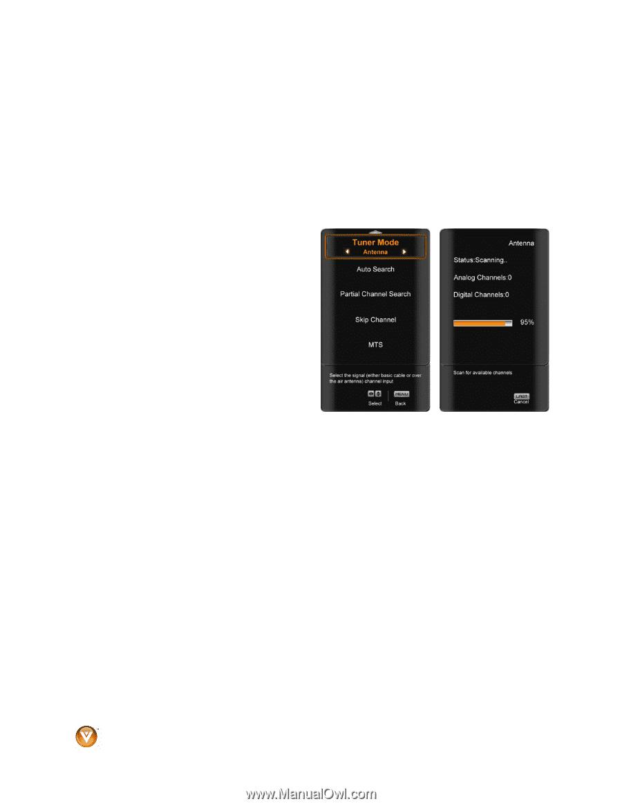 vizio vx240m vx240m hdtv user manual page 44 rh manualowl com Remote Control Vizio VO320E 24 Inch HDMI Cable
