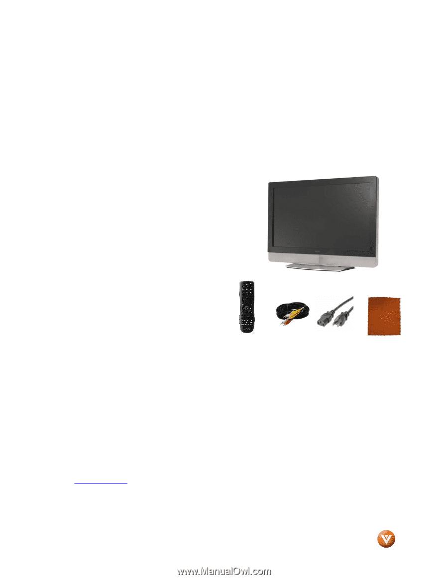 vizio vx32l user manual rh manualowl com Vizio VX32LHDTV10A Problems vizio vx32l hdtv10a user manual