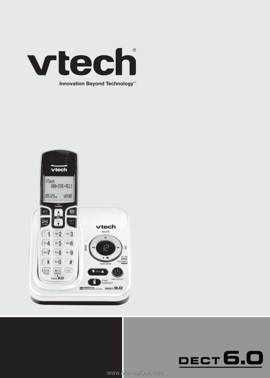 Vtech Cs6229 2 User Manual Cs6229 5 User Manual