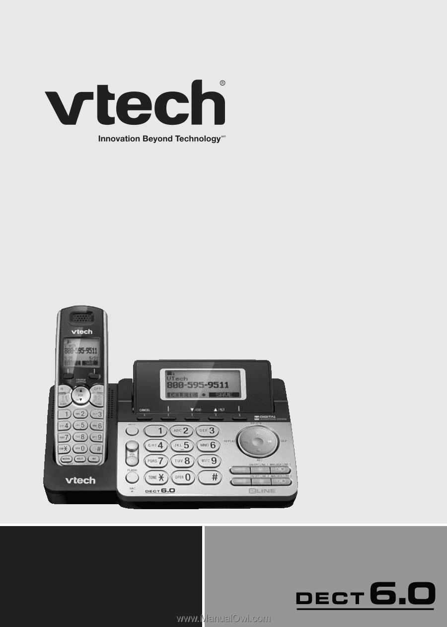 Vtech Ds6151 User Manual Ds6151 User Manual