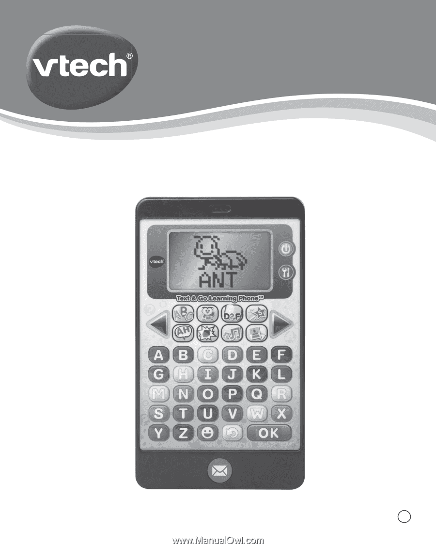 Vtech Text Go Learning Phone User Manual