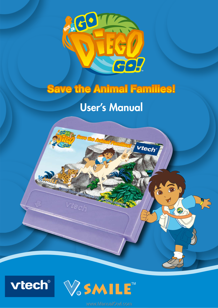 Vtech v. Smile: alphabet park adventure | user manual page 5.