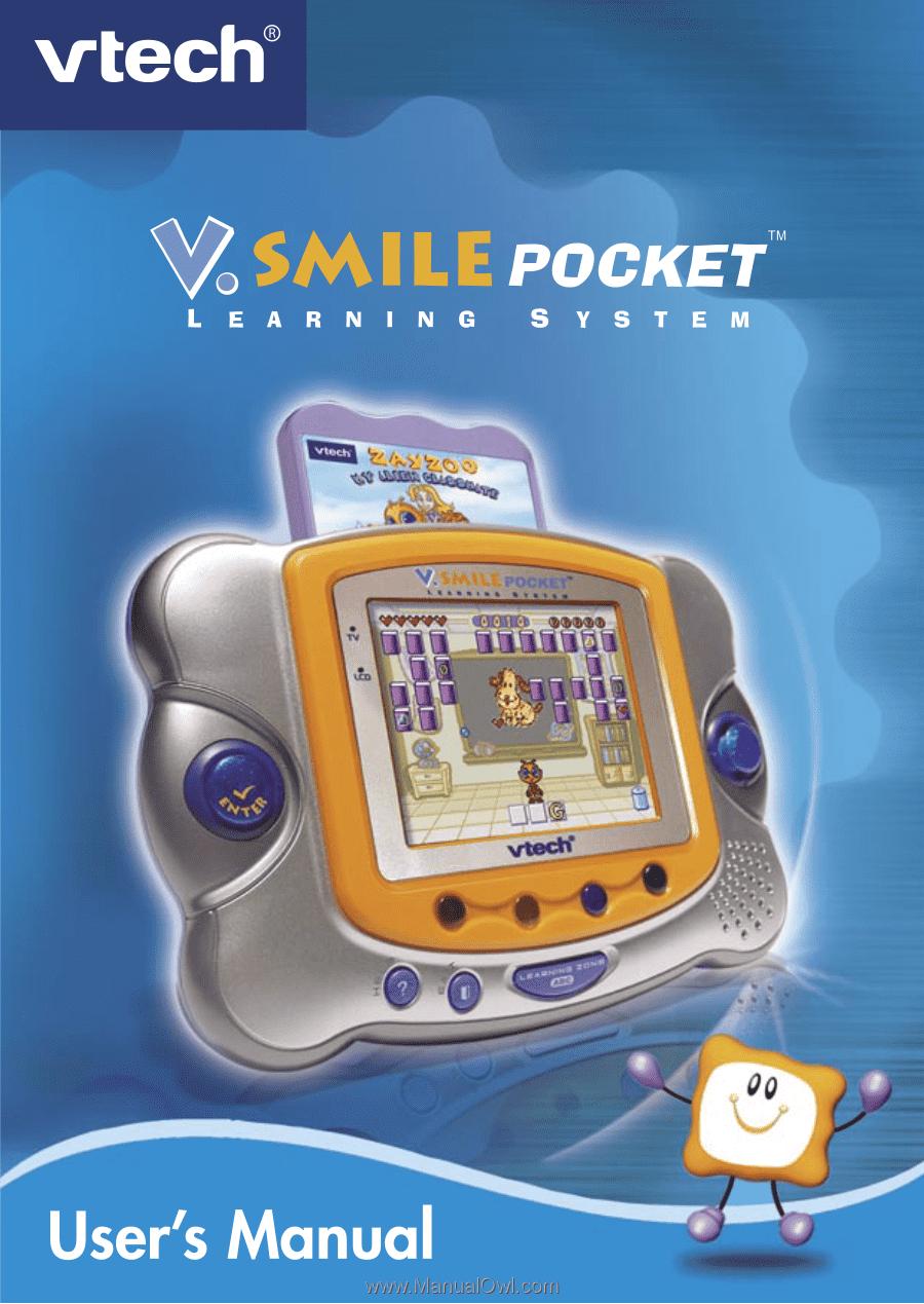 vtech v smile pocket original user manual rh manualowl com V.Smile Cars V.Smile Spongebob