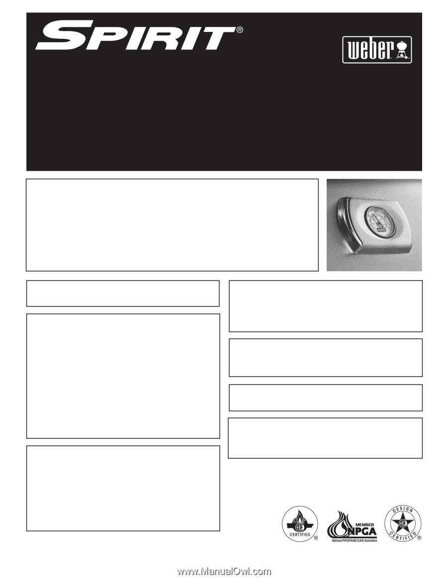 weber spirit e 210 lp owner manual. Black Bedroom Furniture Sets. Home Design Ideas