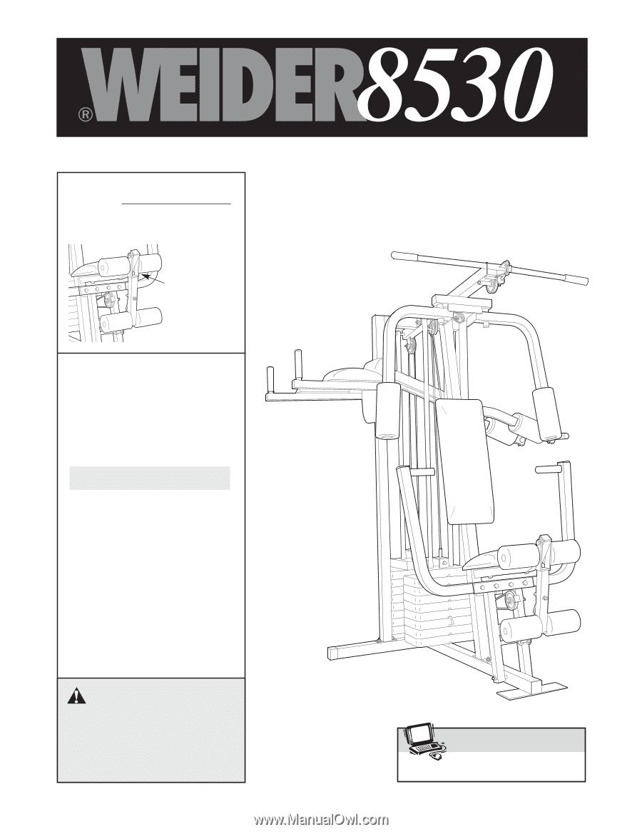 Weider 8530 Home Gym Manual