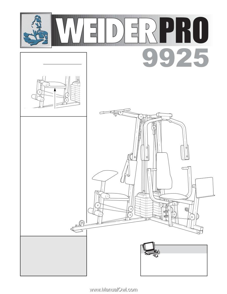 weider pro 9925 english manual rh manualowl com User Guide Icon Online User Guide