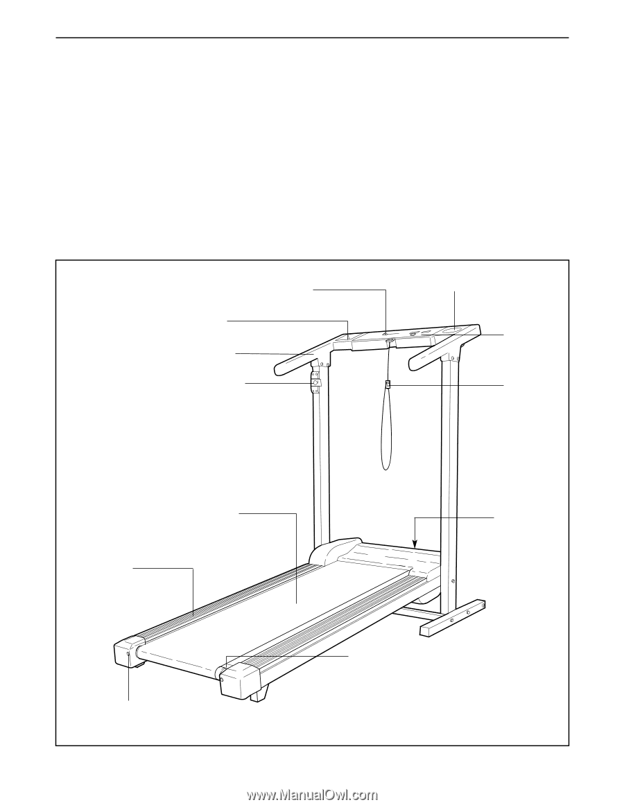 Weslo Cadence 720 Treadmill   German Manual - Page 4