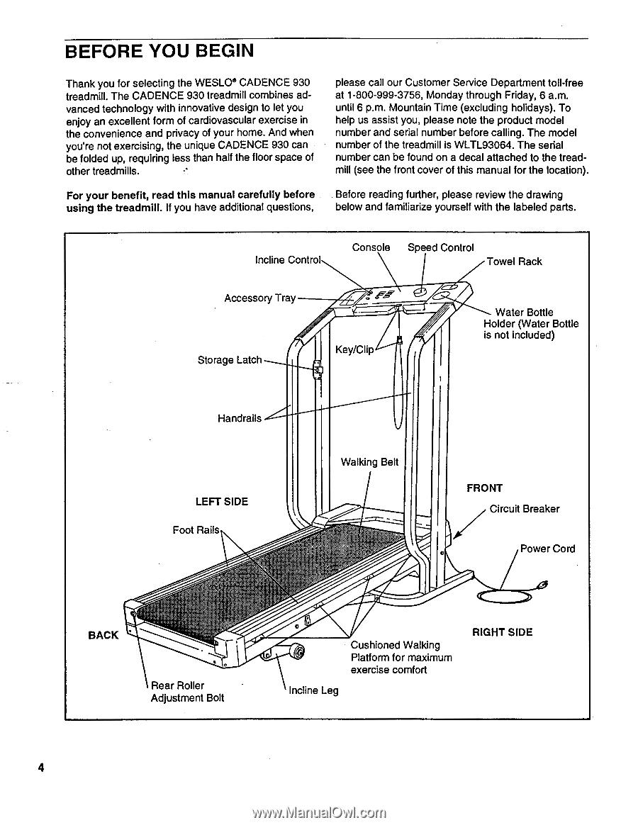 Weslo Cadence 930 Treadmill Parts Wiring Diagram 900x1164