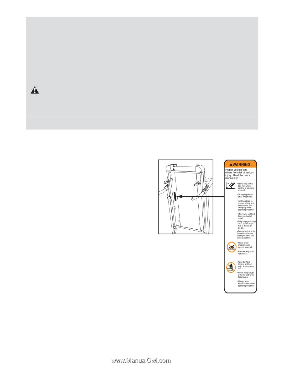 Weslo Cadence C44 Treadmill User Manual Wiring Diagram