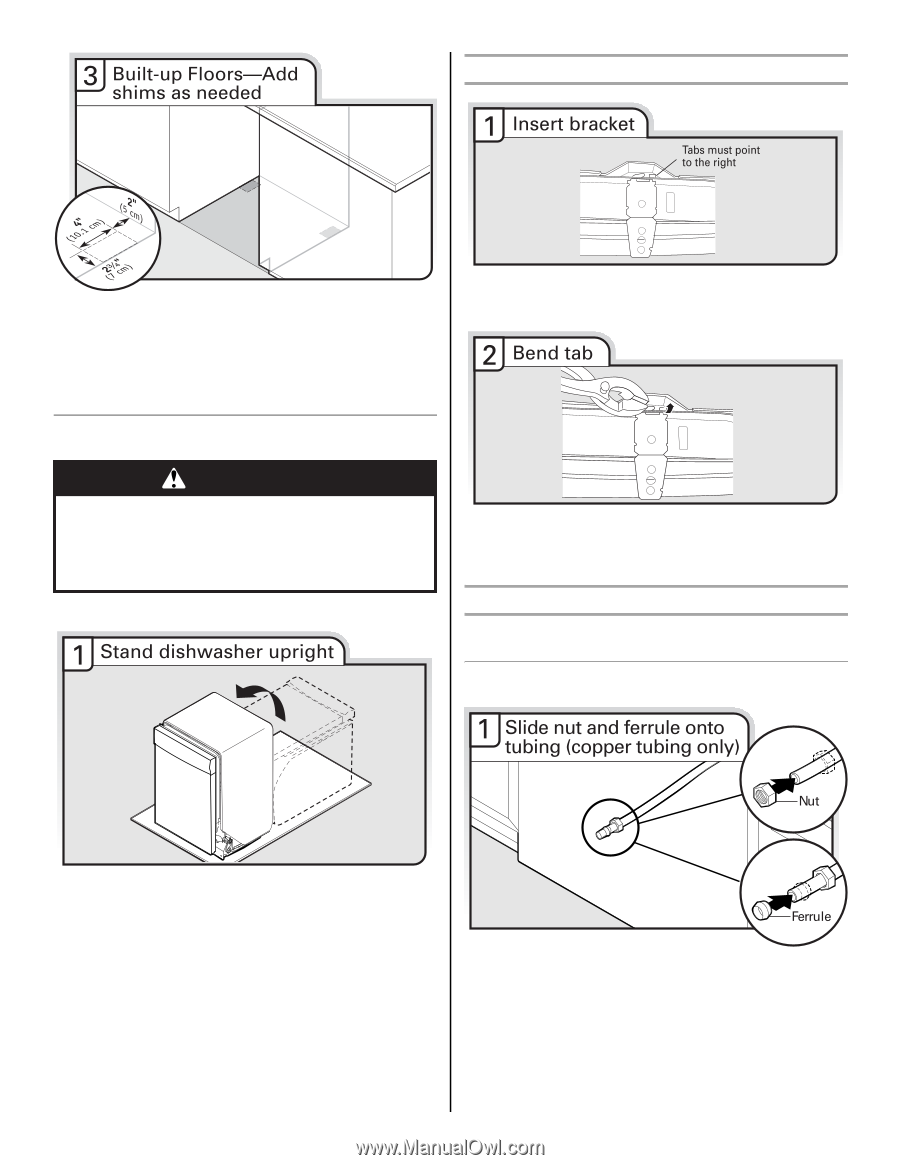 Whirlpool Wdf520padm Installation Guide Page 15