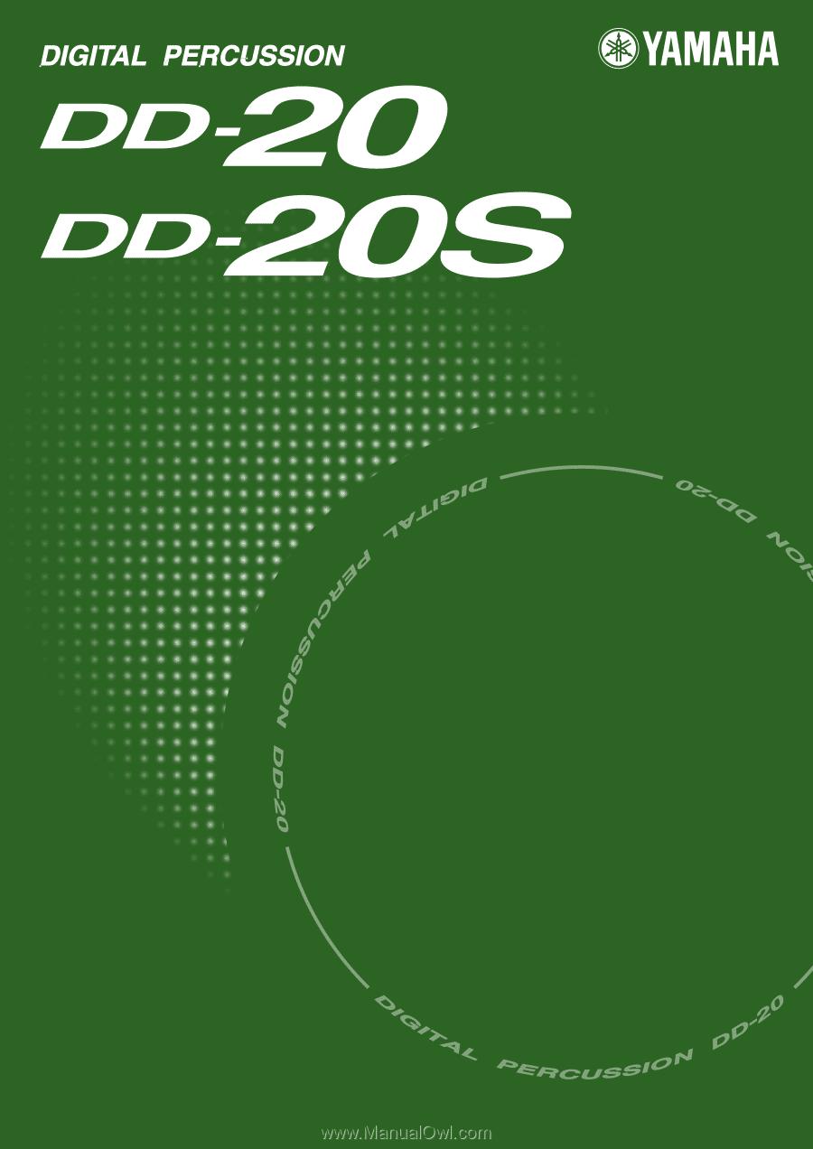 Yamaha Dd S Digital Percussion Manual