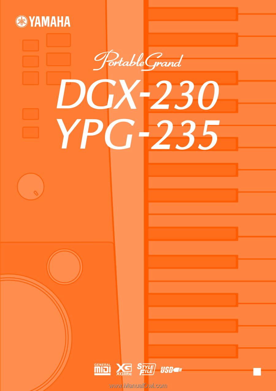 инструкция на рускском yamaha ypg 235