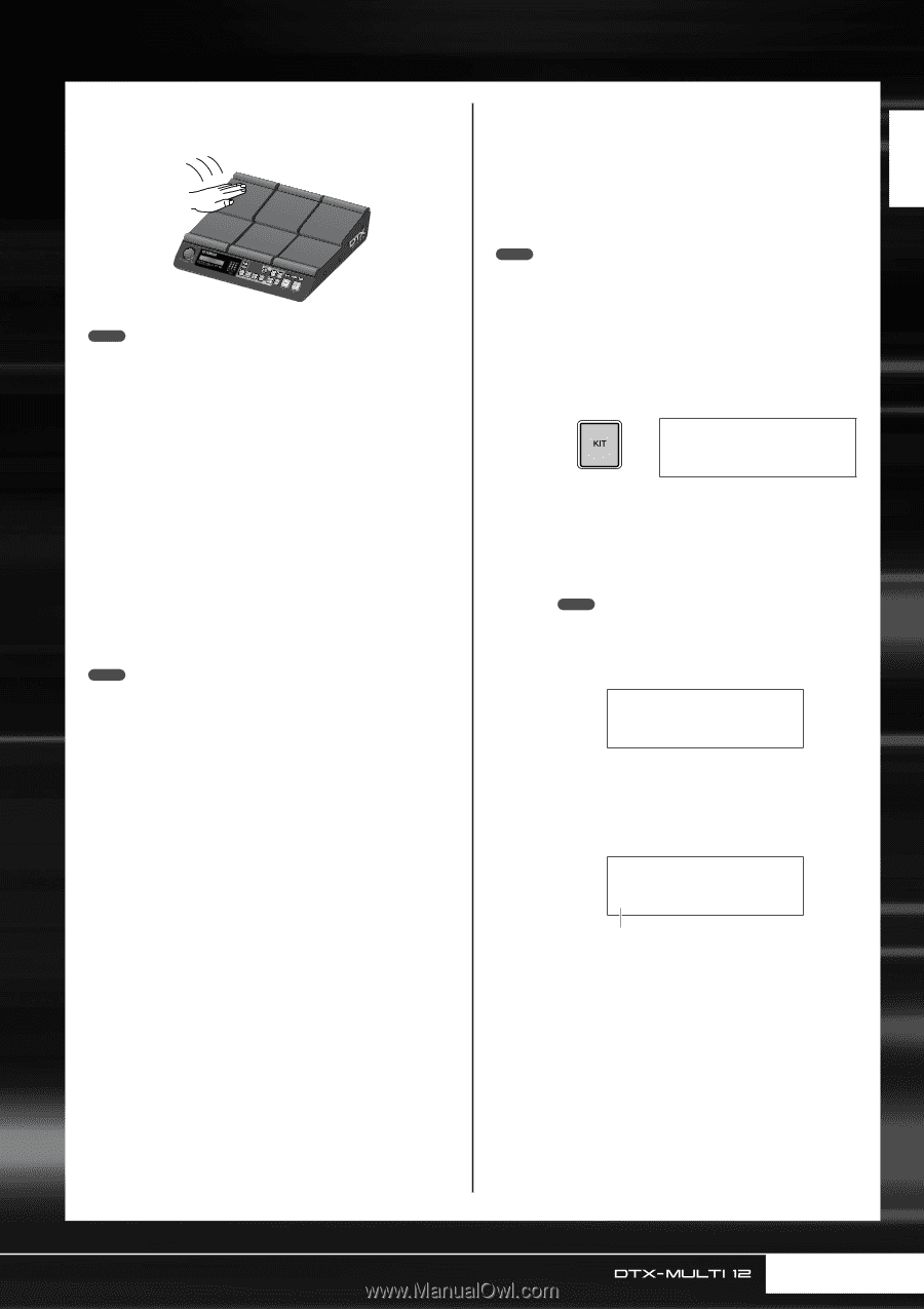 yamaha dtx multi owner s manual page 25