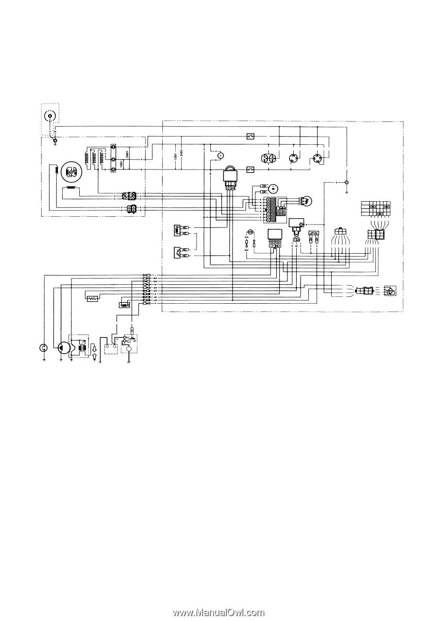 Yamaha Ef6600 Generator Wiring Diagram. . Wiring Diagram on