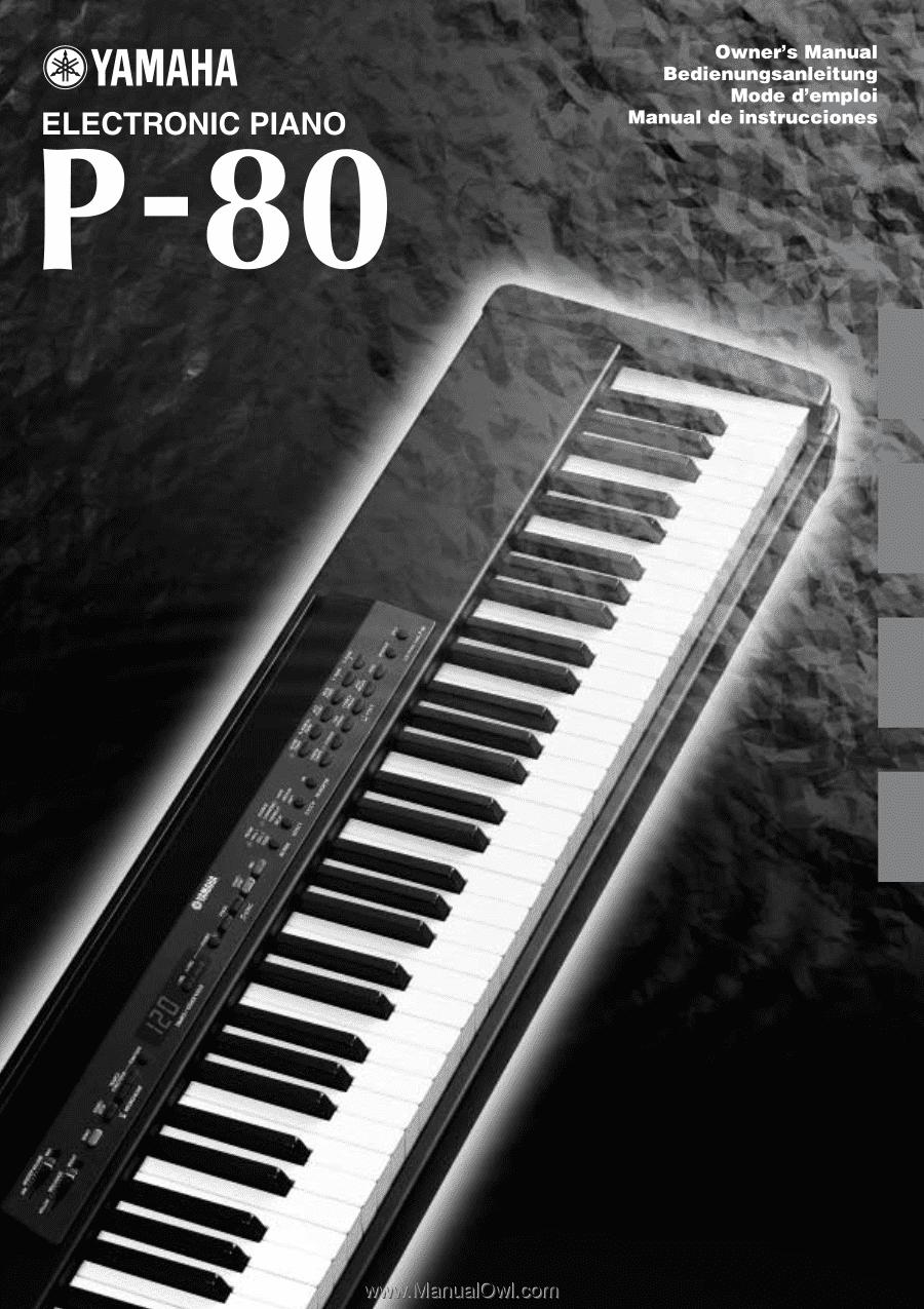 yamaha p 80 owner s manual rh manualowl com yamaha p80 manual download yamaha keyboard p80 manual
