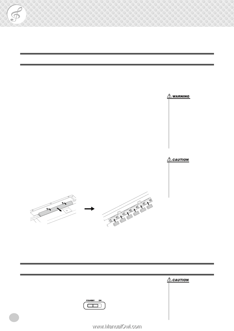 Yamaha Psr 175 Owners Manual Page 8 Fc5 Pedal Wiring Diagram