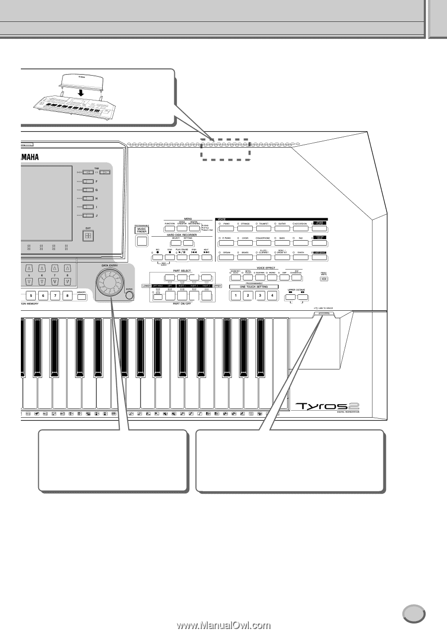 Yamaha Tyros2 | Owner's Manual - Page 19