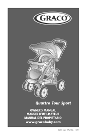 graco quattro tour deluxe travel system instruction manual