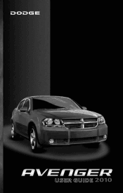 2010 Dodge Avenger User Guide