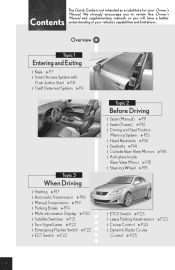 lexus is 350 service manual pdf