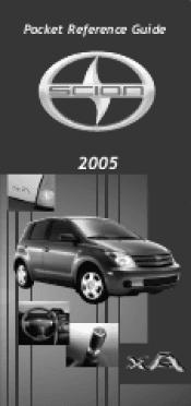 2005 scion xa manuals rh manualowl com Scion Owners Online Scion xA Repair Manual PDF