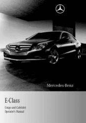 2011 mercedes e class manuals rh manualowl com 2006 E-Class 2014 E-Class