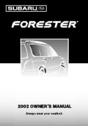 2002 subaru forester manuals rh manualowl com subaru forester service manual pdf subaru forester owners manual 2015