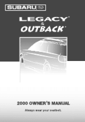2000 subaru outback manuals rh manualowl com 2000 subaru outback service manual Subaru Outback Engine Diagram