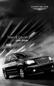 2010 chrysler town country manuals. Black Bedroom Furniture Sets. Home Design Ideas