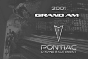 2001 Pontiac Grand Am Owner's Manual
