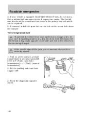 2000 ford ranger owners manual